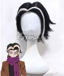 Danganronpa 3: The End Of Hope's Peak High School Despair Arc Gundham Tanaka Black White Cosplay Wig