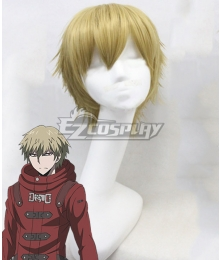 Danganronpa 3: The End of Hope's Peak High School Izayoi Sohnosuke Gold Cosplay Wig