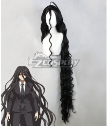 Danganronpa 3: The End Of Hope's Peak High School Despair Arc Izuru Kamukura Black Cosplay Wig