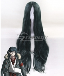 Danganronpa Another Episode: Ultra Despair Girls Haiji Towa Blue Green Cosplay Wig