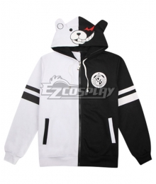 Danganronpa Monokuma Coat Hoodie Cosplay Costume