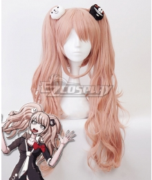 Danganronpa: Trigger Happy Havoc Junko Enoshima Orange Pink Cosplay Wig