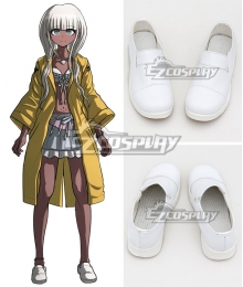 Danganronpa V3: Killing Harmony Angie Yonaga White Cosplay Shoes