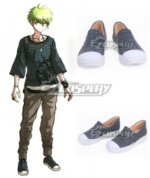 Danganronpa V3: Killing Harmony Rantaro Amami Deep Blue Cosplay Shoes