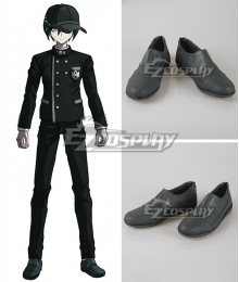 Danganronpa V3: Killing Harmony Shuichi Saihara Grey Cosplay Shoes