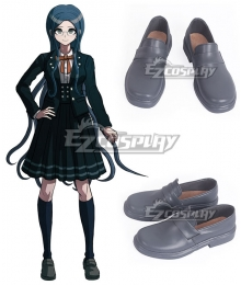 Danganronpa V3: Killing Harmony Tsumugi Shirogane Grey Cosplay Shoes