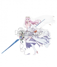 Darling in the Franxx Zero Two Code 002 Wedding Cosplay Costume