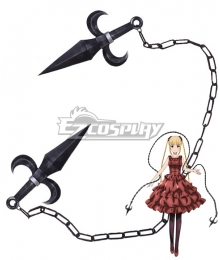 Darwin's Game Karino Shuka Chain Cosplay Weapon Prop