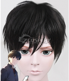 Darwin's Game Sudou Kaname Black Cosplay Wig