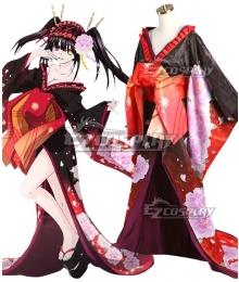 Date A Live Tokisaki Kurumi Oiran Ver. Cosplay Costume