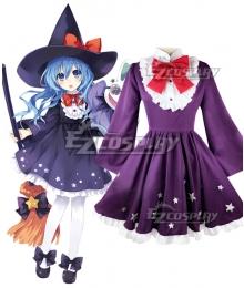 Date A Live Yoshino Himekawa Witch Cosplay Costume