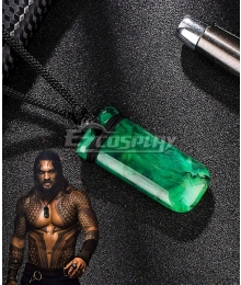 DC Aquaman 2018 Movie Arthur Curry Necklace Cosplay Accessory Prop