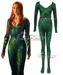DC Aquaman 2018 Movie Mera Jumpsuit Cosplay Costume
