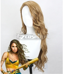 DC Birds of Prey  Black Canary Dinah Lance Golden Cosplay Wig