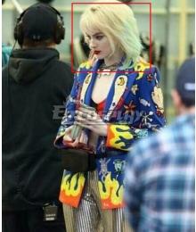 DC Birds of Prey Harley Quinn Blue Pink Cosplay Wig