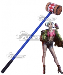 DC Birds of Prey Harley Quinn Hammer Cosplay Weapon Prop