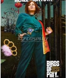 DC Birds of Prey Renee Montoya Cosplay Costume