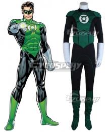 DC Comic Green Lantern Super Hero Cosplay Costume