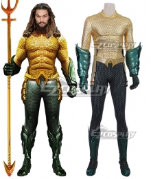 DC Comics 2018 Movie Aquaman Arthur Curry Cosplay Costume - A Edition