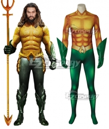 DC Comics 2018 Movie Aquaman Arthur Curry Cosplay Costume