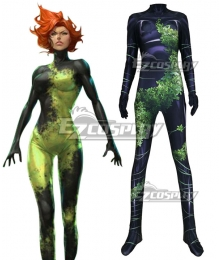 DC Comics Batman Poison Ivy Pamela Lillian Isley Cosplay Costume