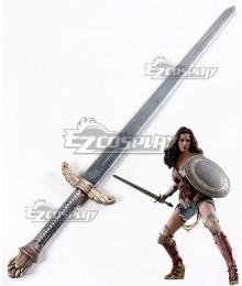 DC Comics Justice League Wonder Woman Diana Prince Sword Cosplay Weapon Prop