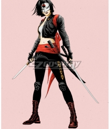 DC Comics Katana Tatsu Toro Cosplay Costume - A Edition