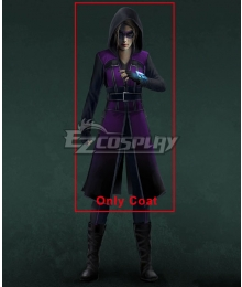 DC Comics Legends of Tomorrow Felicity Smoak Cosplay Costume - Only Coat