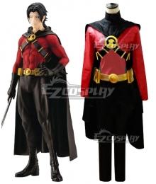 DC Comics Red Robin Tim Drake Cosplay Costume