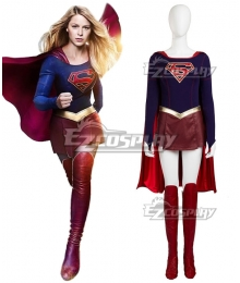 DC Comics The Flash Supergirl Deluxe Version Cosplay Costume