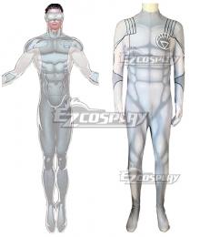 DC Comics White Lantern Corps Jumpsuit Zentai Cosplay Costume