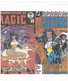 DC comics Zatanna Cosplay Costume