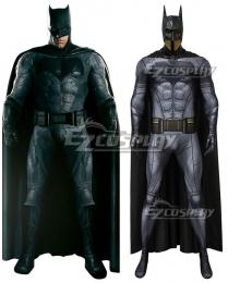 DC Justice League Batman Bruce Wayne Zentai Jumpsuit Cosplay Costume