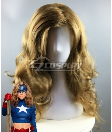 DC Stargirl Courtney Whitmore Golden Brown Cosplay Wig
