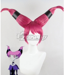 DC Teen Titans Jinx Purple Cosplay Wig