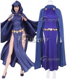 DC Teen Titans Raven Cosplay Costume