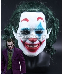 DC The Dark Knight Batman Joker Mask Cosplay Accessory Prop
