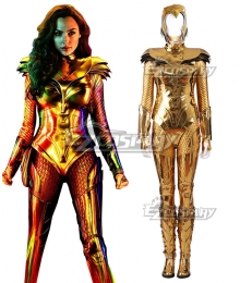 DC Wonder Woman 1984 Diana Prince Armor Cosplay Costume