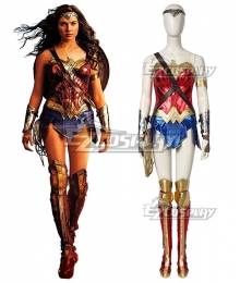 DC Wonder Woman 2 1984 Diana Prince Cosplay Costume