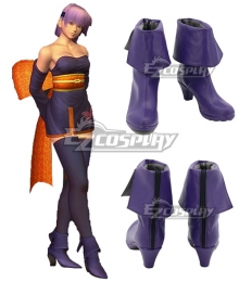 Dead or Alive Ayane Blue Cosplay Shoes