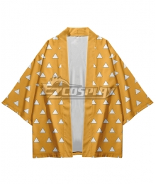 Demon Slayer: Kimetsu No Yaiba Nezuko Kamado Short Coat Cosplay Costume