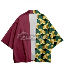 Demon Slayer: Kimetsu no Yaiba Giyuu Tomioka Short Coat Cosplay Costume
