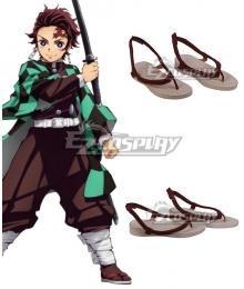 Demon Slayer: Kimetsu No Yaiba Kamado Tanjirou Red Cosplay Shoes