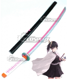 Demon Slayer: Kimetsu No Yaiba Kanao Tsuyuri Sword Cosplay Weapon Prop