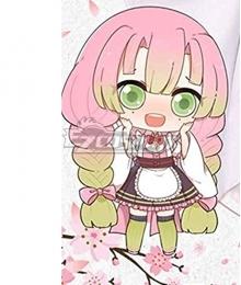 Demon Slayer: Kimetsu No Yaiba Kanroji Mitsuri Maid Cosplay Costume