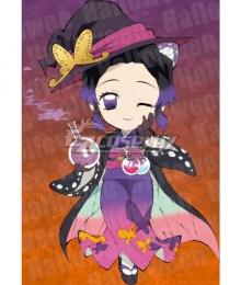 Demon Slayer: Kimetsu No Yaiba Kochou Shinobu Halloween Cosplay Costume