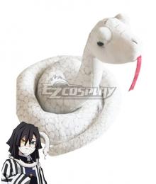 Demon Slayer: Kimetsu no Yaiba Obanai Iguro White snake Cosplay Accessory Prop