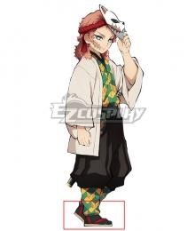 Demon Slayer: Kimetsu no Yaiba Sabito Red Cosplay Shoes
