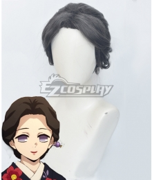 Demon Slayer: Kimetsu No Yaiba Tamayo Black Cosplay Wig