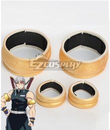 Demon Slayer: Kimetsu no Yaiba Tengen Uzui Hand wear and Armband Cosplay Accessory Prop